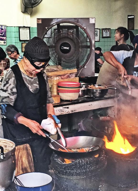 Michelin starred Bangkok street food