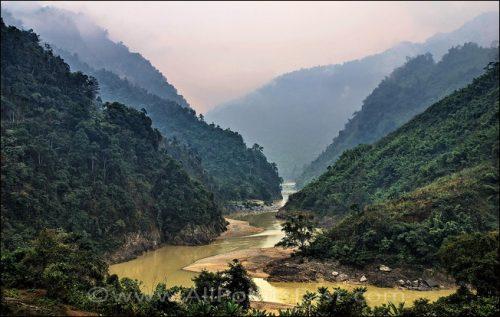 Black River Valley, near Lai Chau, Vietnam