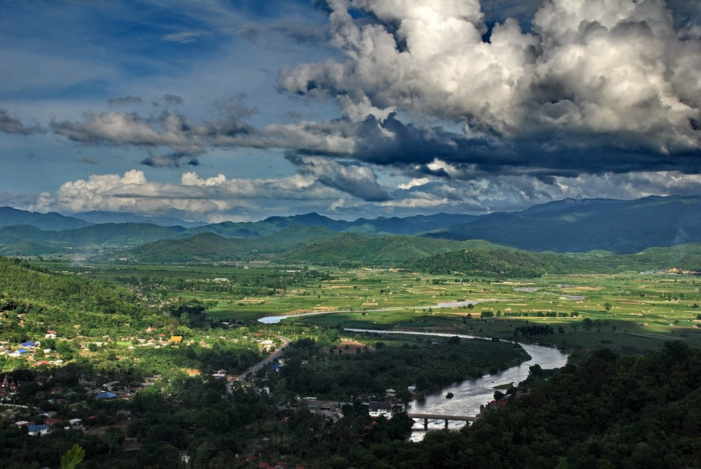 Scenery of the Golden Triangle