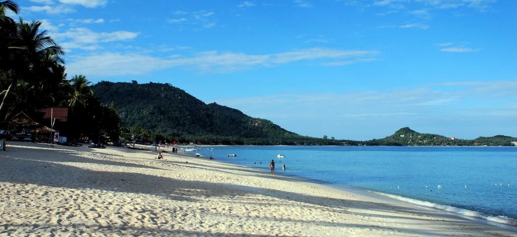 Samui, Lamai beach in August!