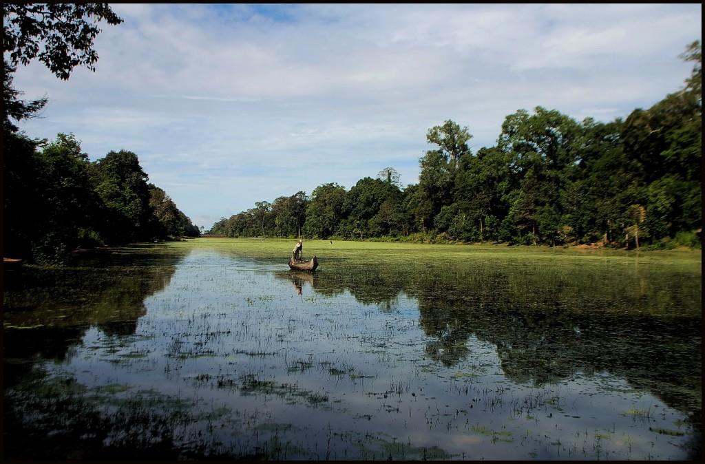 Angkor Tom, S.E. corner of moat