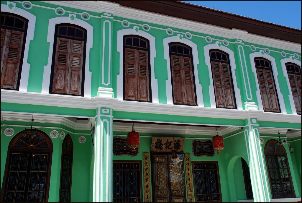 Restored buildings in Georgetown's Chinatown