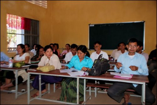 Meas Kong School Project, Cambodia