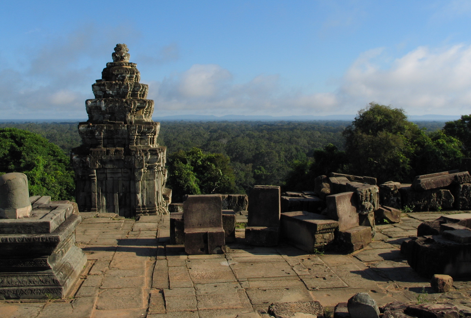Cambodia, Bahkeng view