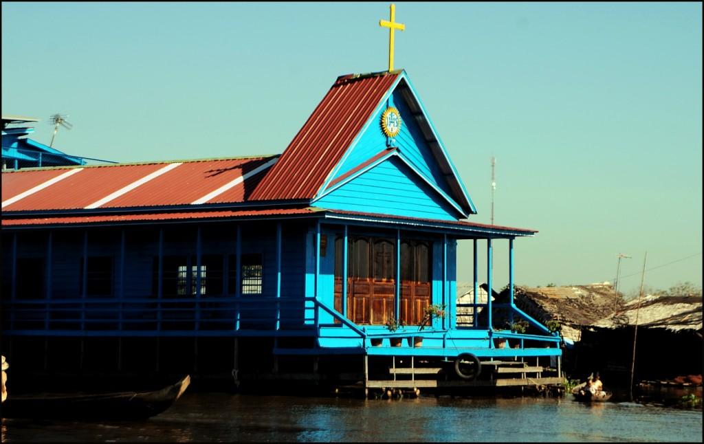 Raft church, Prek Toal