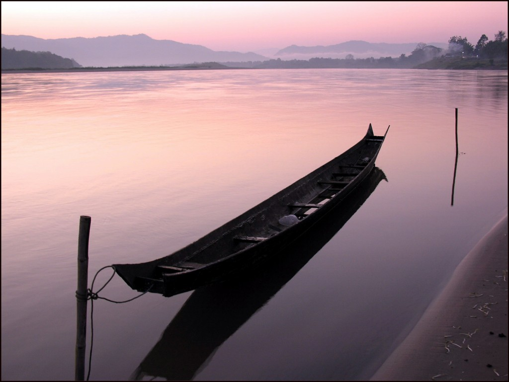 Mekong dawn, Chiang Khong