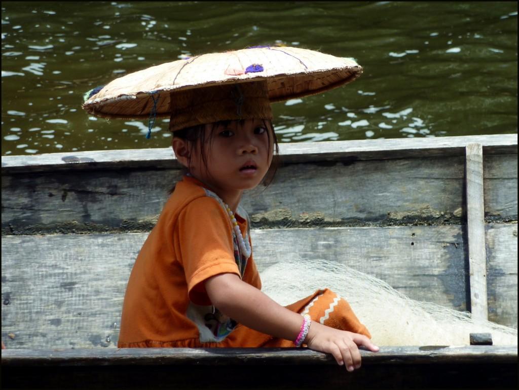 Penan girl, Sarawak