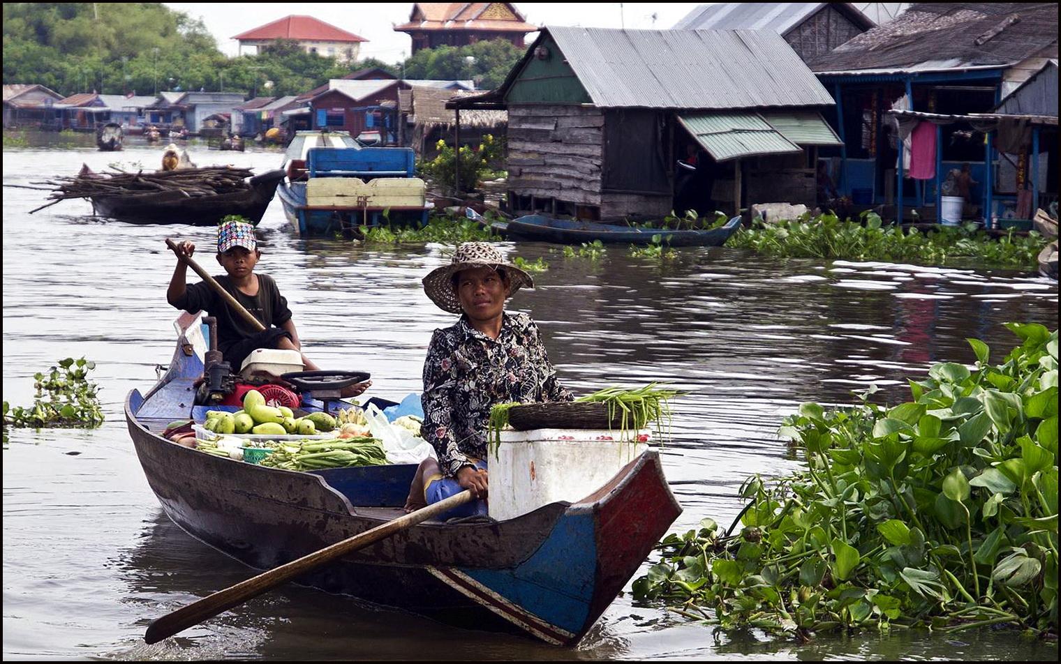 Cambodia Overland tour photos