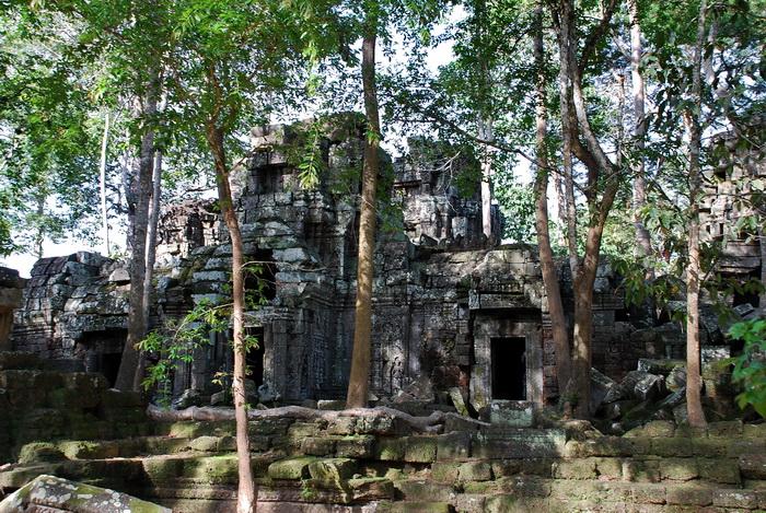 Ta Nei Temple, East entrance