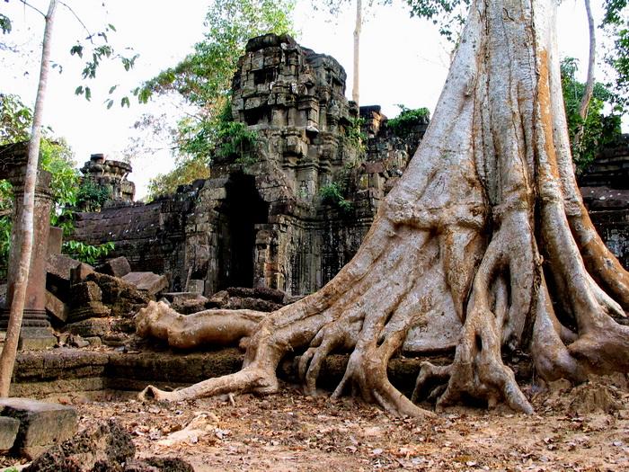 Western gopura, or entrance to inner enclosure