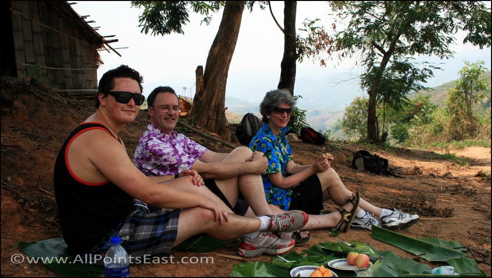 The Hills of Mae Salong. Trekking break