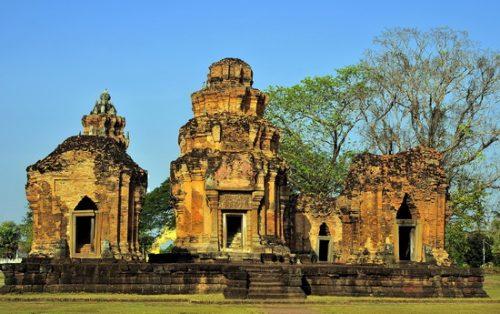 Angkor period temples in Thailand - Sikhoraphum, Surin
