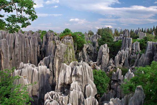 The Shilin Stone Forest, Yunnan