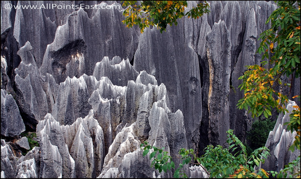 Curious rock formations