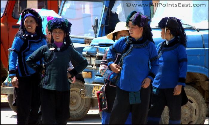 Hani women, Yuanyang