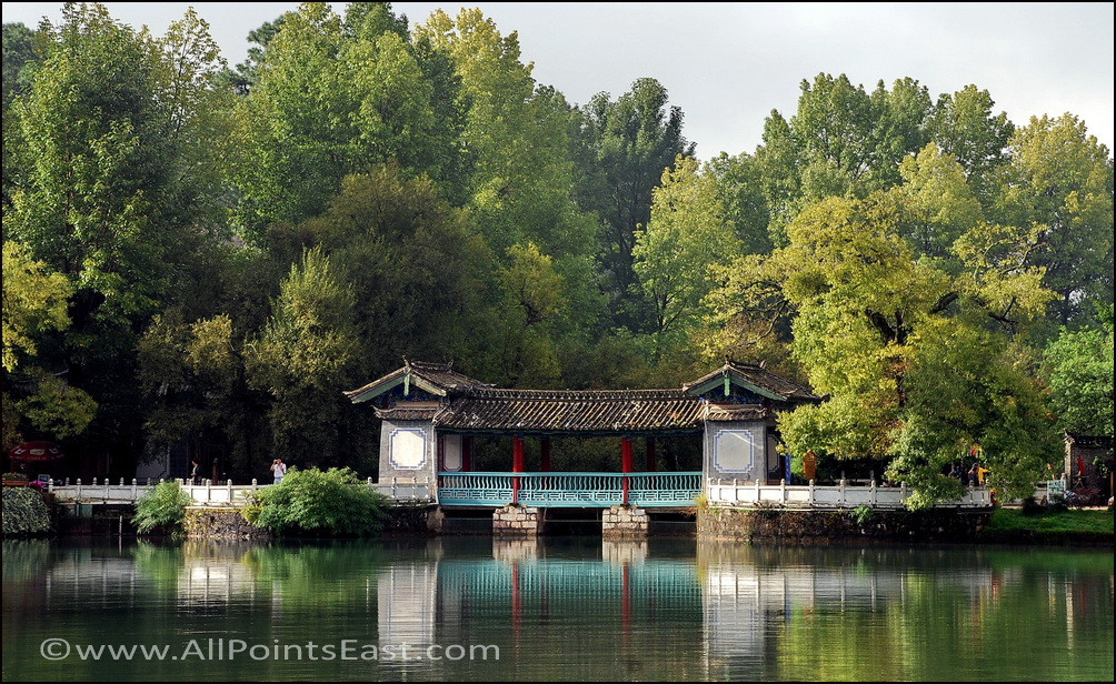 The picturesque Black Dragon Pool, Lijiang