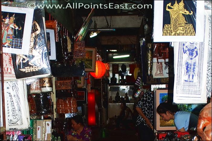 More artwork and souvenirs