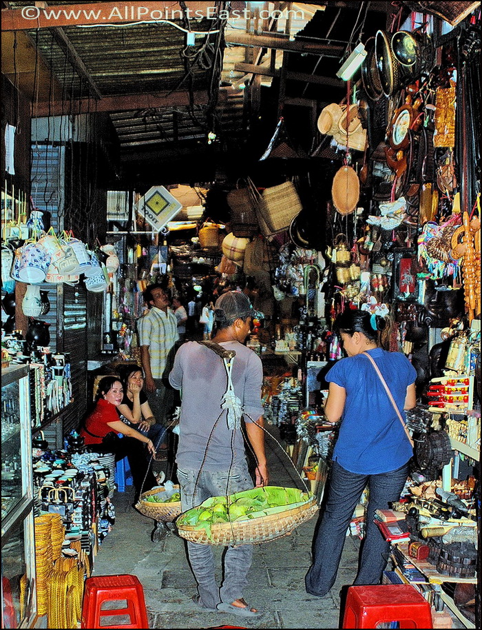 Traditional and modern style vendors