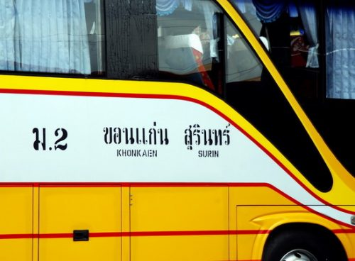 Issan odyssey, Northeast Thailand by bus