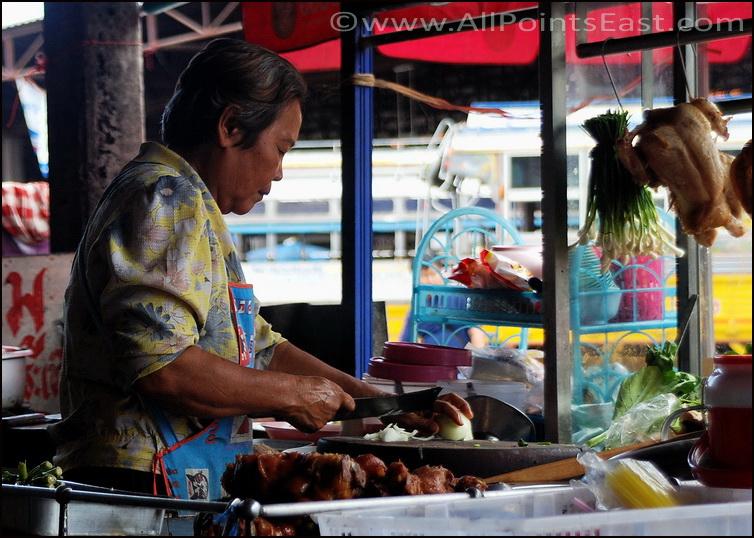 Pat kapao in Khon Kaen