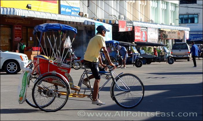 Surin, rickshaw