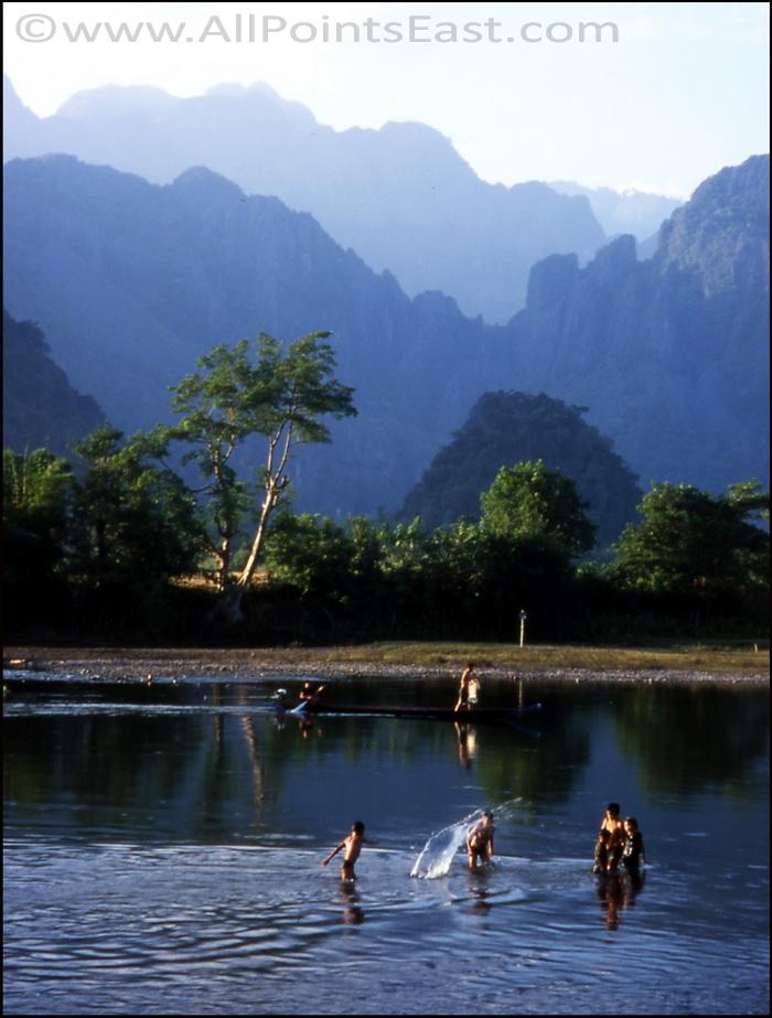 Idyllic river scene