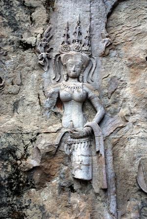 Angkor Wat, apsara