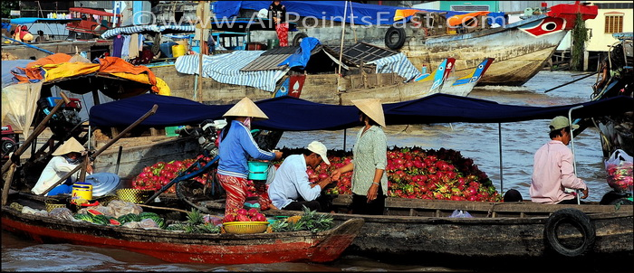 In Thailand dragon fruit is actually known as 'Vietnamese fruit'