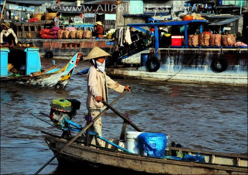 10 best pix of our favourite Vietnamese market - the fantastic Can Tho floating market