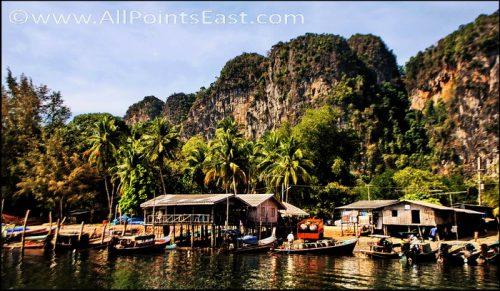 Chao Mai National Park, Trang, Thailand - mangrove swamps and sea-caves