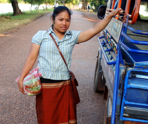 Sone at Wat Phu, Champassak