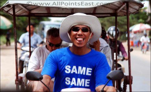 'Same same but different' and Burma news