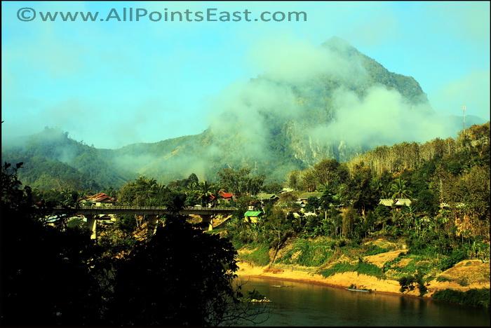 Nong Khiaw village