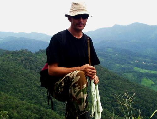 Jean-Daniel, trekking in northern Thailand