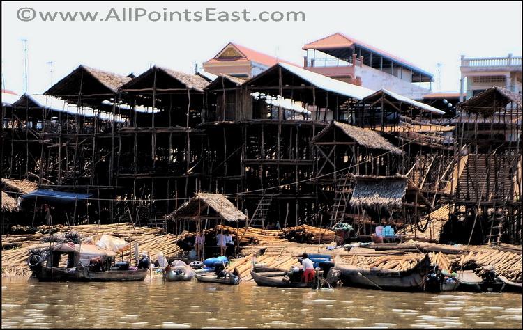 Kompong Chnang, riverside market
