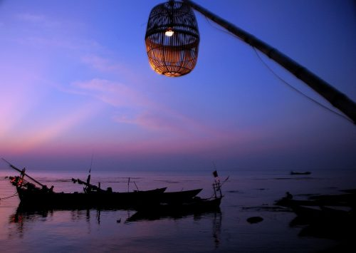 Kep sunsets - some colourful views of the Cambodian coastal town