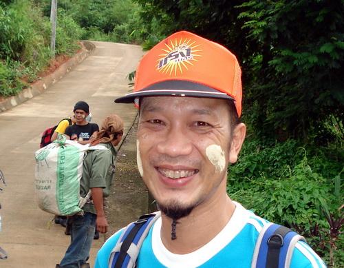 Oh, leaving on  a jungle trek, Sangklaburi