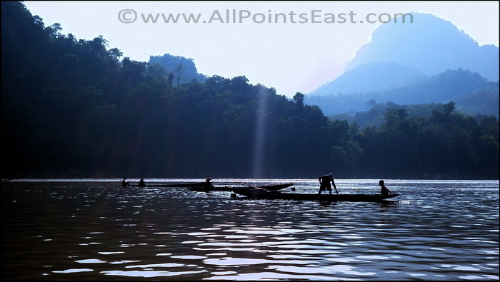 The Ou River Northern Laos