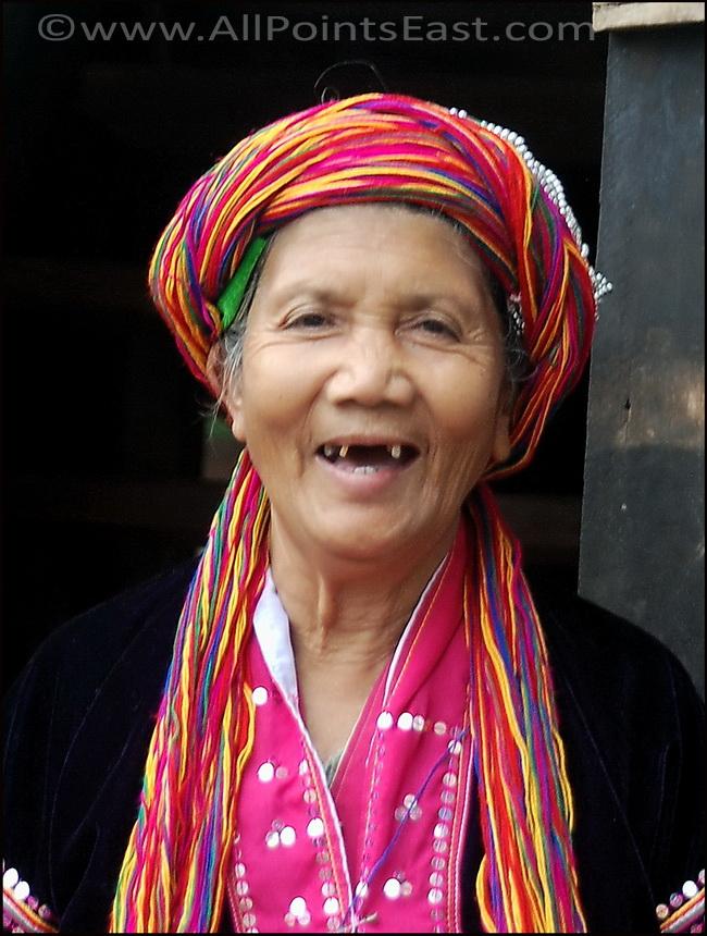 Portraits of Myanmar. Palaung woman near Kalaw