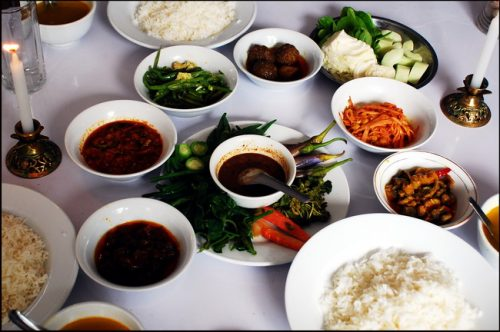 Burmese food - so what's the grub like then?