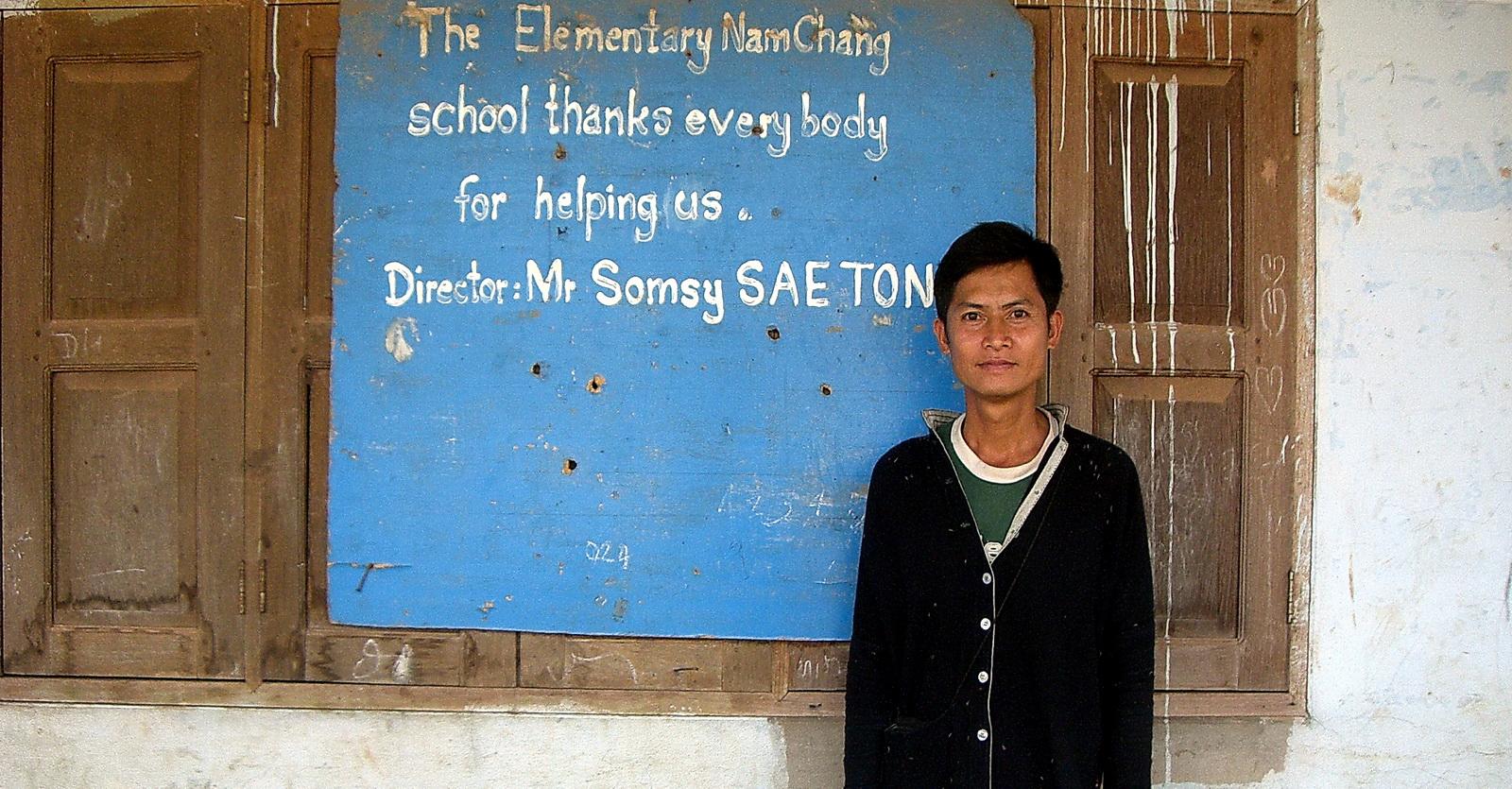 Laos, Huay xai school project