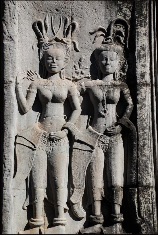 Apsaras of Angkor Wat