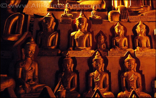 More than 8,000 Buddhas at last count