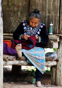 Hmong woman, Doi Pui, Chiang Mai