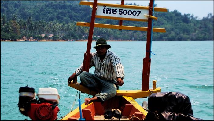 Rabbit Island, boatman