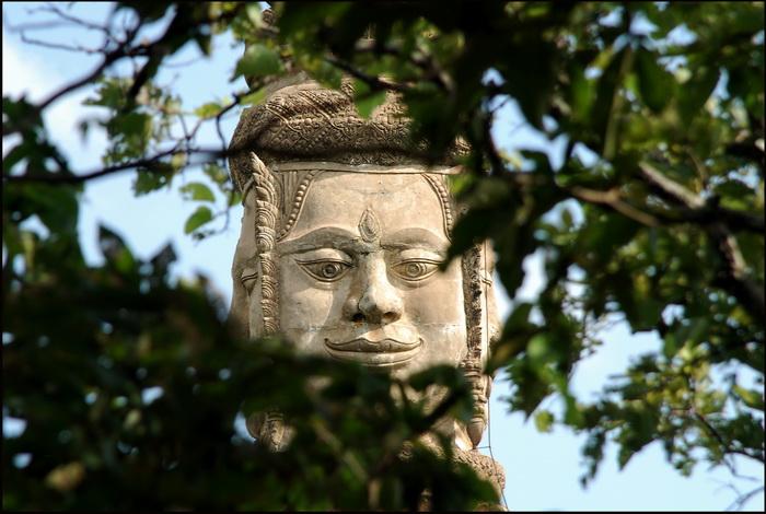 Stupa housing ashes of King Ang Duong