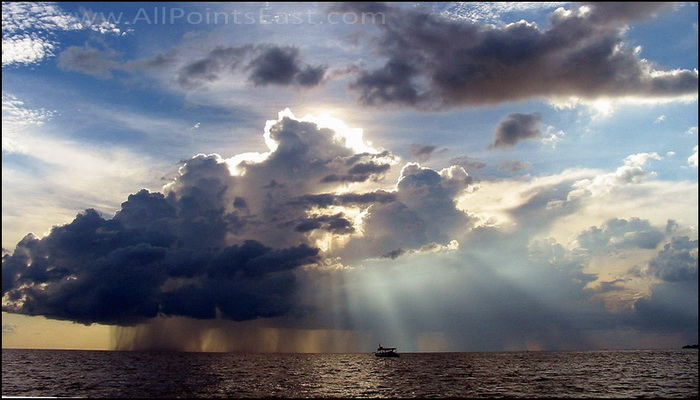 Storm in the Gulf of Thailand
