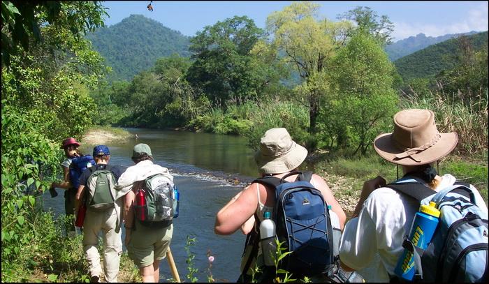 Trekking in Thung Yai