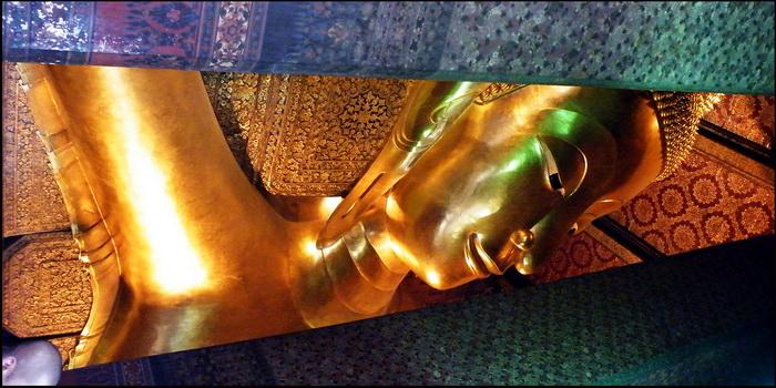 Reclining Buddha, Wat Phu