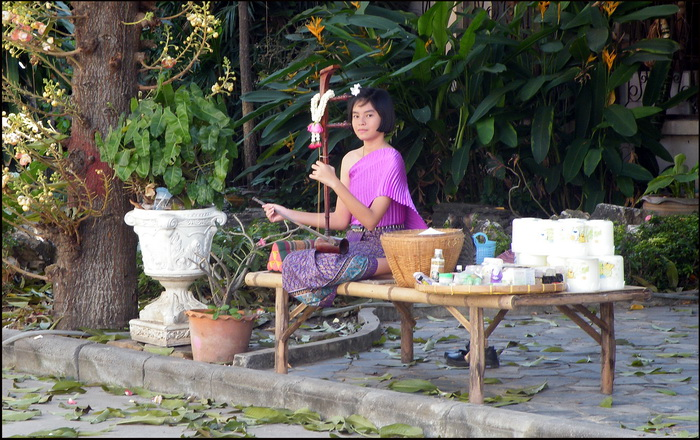 Traditional Thai music in Ayuthaya